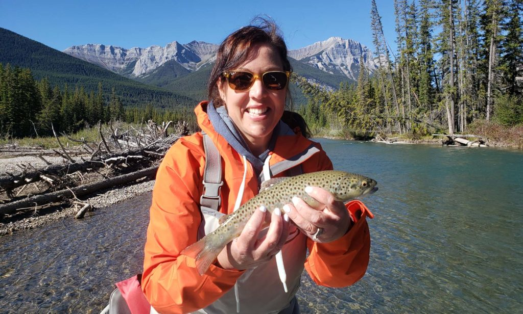 Fishing in the Canadian Rockies