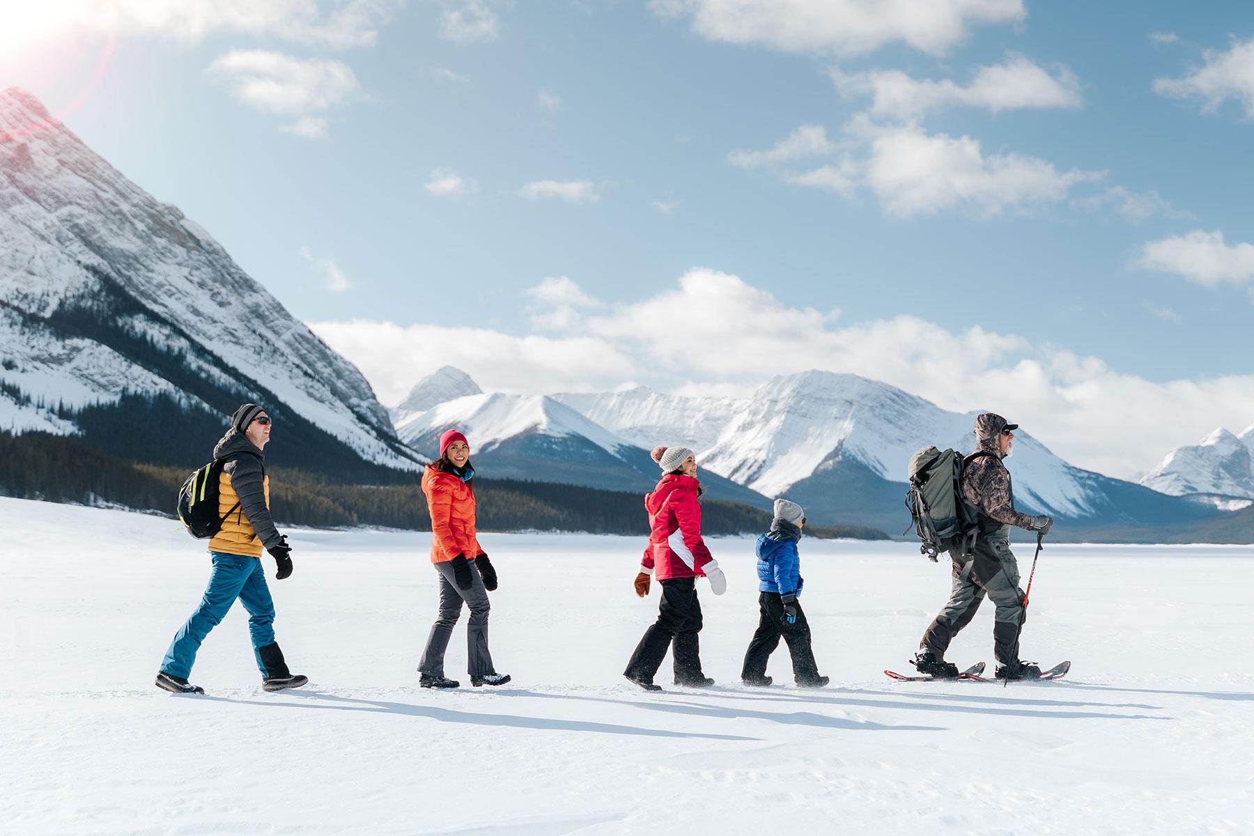 Ice Fishing Family