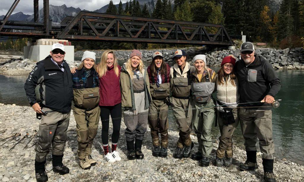 Group fishing tour